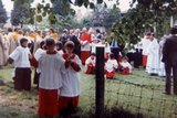 Glastonbury Pilgrimage 1979 with Cardinal Hume